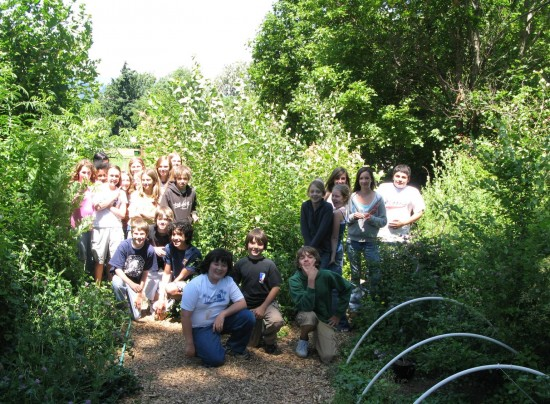 Engaging Students in their Community: Hood River Middle School Outdoor Classroom Project