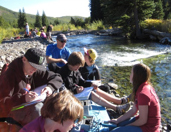 "From Screens to Streams: Using Technology as a ""Bridge"" to the Outdoors"