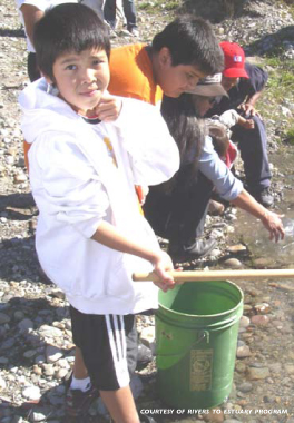 Learning about waterways and First Nation ways