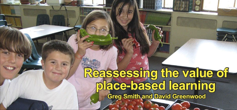Reassessing the value of place-based learning: an online discussion